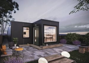 Maximizing Space With the Help of These Shipping Container ... on prefab shipping container home floor plans, dwell homes landscaping, stick built home floor plans, dwell modular homes,